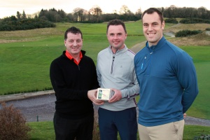 Golf_Munster PGA_Skycaddie_Wayne O'Callaghan_Dec2014