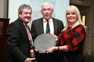 GOLF_Cork GC_Golfer Guide Awards_Jan 2015