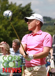Cian McNamara (Monkstown GC) pictured during the 2014 Irish Open at Fota Island.; Picture: Niall O'Shea
