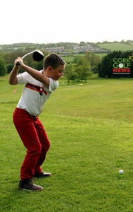Wayne Whitley O'Callaghan practicing at the Fernhill Academy