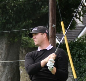 Peter in action in the Cork Pro-Am back in 2012 Picture: Niall O'Shea