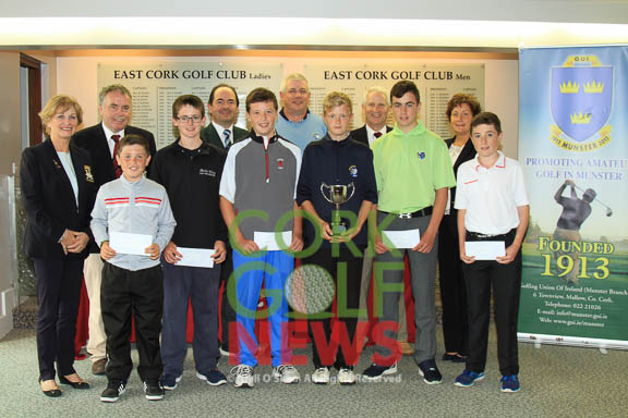 Munster Boys Under 14 Open Championship 2015