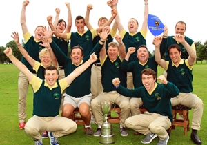 Douglas celebrating after their AIG Junior Cup Munster Final win at Dungarvan Golf Club a few weeks ago Picture: Niall O'Shea