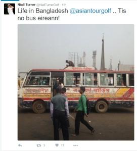 Niall Turner Bangladesh