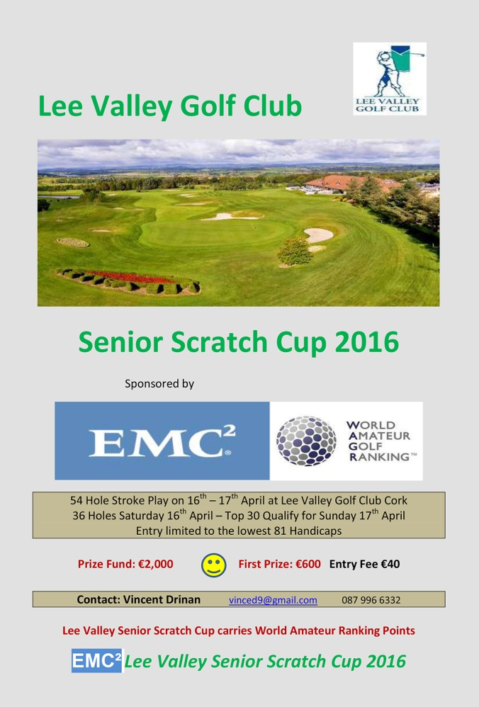 EMC Lee Valley Senior Scratch Cup Flier