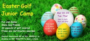 Monkstown Junior Camp Easter 2016