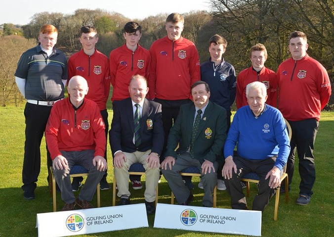 2016 Irish Schools Senior Championship at Athlone Golf Club