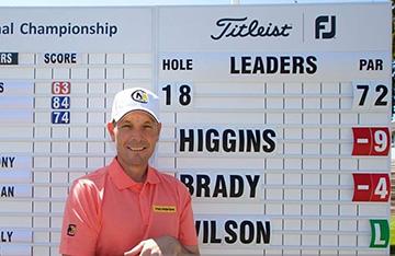 DAvid Higgins PGA CShip