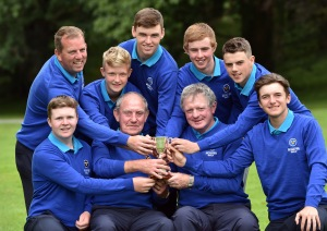 2016 Boys Interprovincial Championship at Tullamore Golf Club