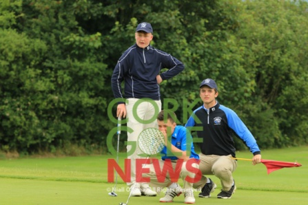 Irish Junior Foursomes Munster Final, Newcastlewest Golf Club, Friday 5th August 2016