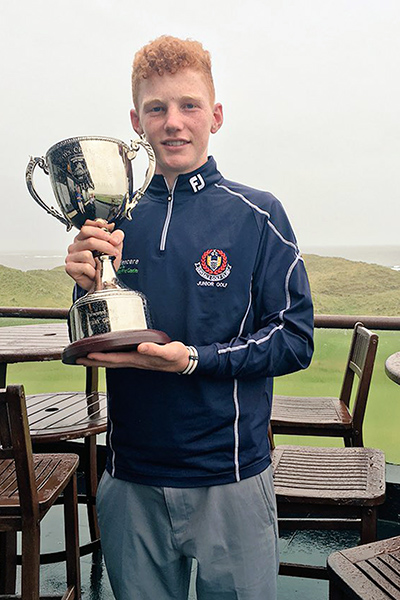 John Murphy Kerry Boys 2016 Trophy