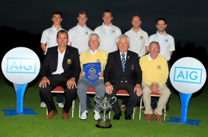 Munster Golf AIG Barton Shield 2016