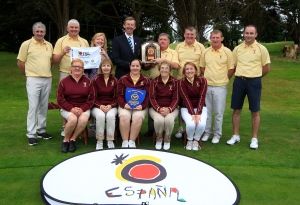 Mixed Foursomes Munster Final