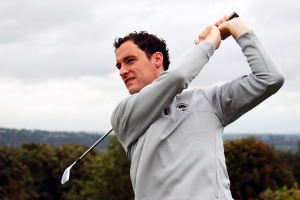 Stephen Hayes pictured in action in Douglas Golf Club.Picture: Niall O'Shea
