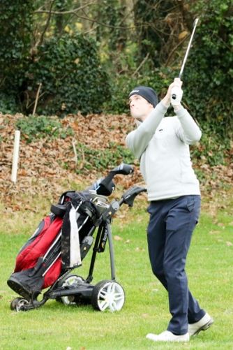 Pictures from the Munster PGA Winter Series, Taylormade Singles at Castlemartyr Links, Mon 5th December 2016. Picutre: Niall O'Shea