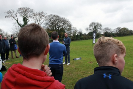 The Monkstown Pro Shop Clinic with Seamus Power. Picture: Niall O'Shea