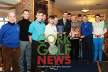 Irish Schools Senior Championship Munster Final, Cahir Park Golf, Mon 6th March 2017, De La Salle Waterford v Davis College Mallow