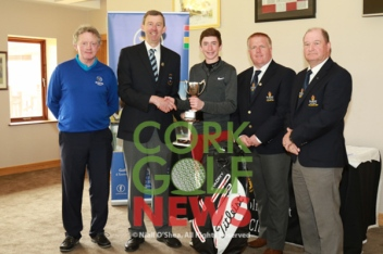 Munster Boys Under 16 Championships, Blarney Golf Club, Tuesday 11th April 2017