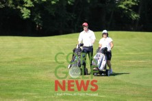 Irish Mixed Foursomes, Monkstown GC, 18th Jun 2017. (C) Niall O'Shea, Cork Golf News. www.corkgolfnews.com