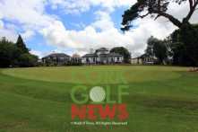 The new putting green and course at Frankfield, the 50m x 30m green is one of the largest in the country. Picture: Niall O'Shea