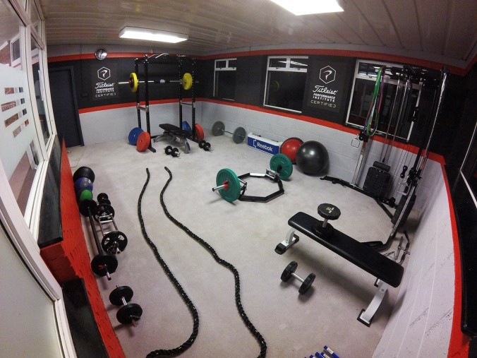 The gym at Cork Golf Centre in Ballincollig