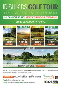 Irish Kids Golf Tour Poster (002)