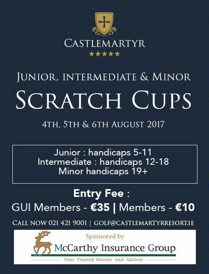Castlemartyr Scratch Cups 2017