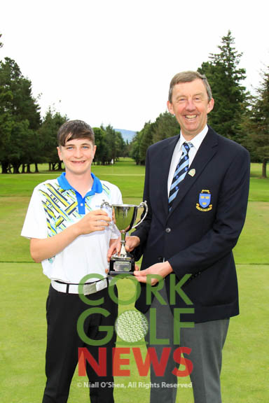 Munster Boys Under 14 Open, Kanturk Golf Club, Tuesday 11th July 2017