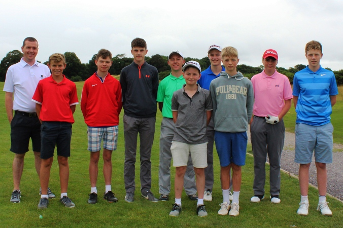 Castlemartyr junior members pictured at a Harbour Shield match.