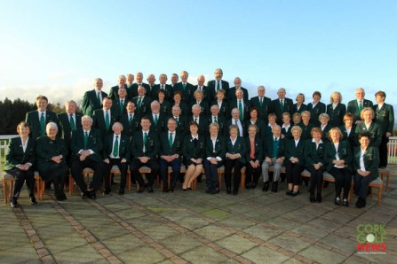Lee Valley Golf Club Officers from the past 25 years pictured at the 25th Anniversary celebrations at the club. Picture: Niall O'Shea