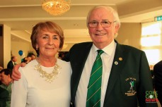 Peg and Jerry Keohane pictured at the 25th Anniversary celebrations at Lee Valley. Picture: Niall O'Shea