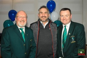 Tim Ellard, Paul Keohane and Pat Mullins at the Lee Valley 25th Anniversary celebrations. Picture: Niall O'Shea