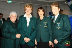 Mary Quaid, Sheila O'Reilly, Pauline Farrell and Kitty O'Sullivan at the Lee Valley 25th Anniversary celebrations. Picture: Niall O'Shea