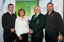 David, Peg, Jerry and Paul Keohane pictured at the 25th Anniversary celebrations at Lee Valley. Picture: Niall O'Shea