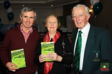 Con Lynch pictured with Brenda O'Brien and Con O'Brien at the Lee Valley 25th Anniversary celebrations. Picture: Niall O'Shea