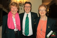 Richard Falvey pictured with Sheila O'Reilly and Margaret Furlong at the Lee Valley 25th Anniversary celebrations. Picture: Niall O'Shea