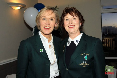 Elmarie Long pictured with Lay Captain Anne Fanning at the Lee Valley 25th Anniversary celebrations. Picture: Niall O'Shea