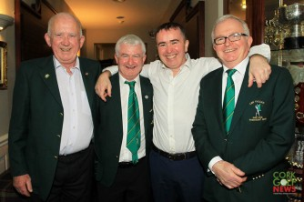 Phil Cooney, Declan Ryan, Vincent Drinan and Declan Farrell pictured at the 25th Anniversary celebrations at Lee Valley. Picture: Niall O'Shea