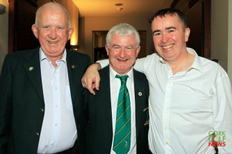 Phil Cooney, Declan Ryan and Vincent Drinan pictured at the 25th Anniversary celebrations at Lee Valley. Picture: Niall O'Shea