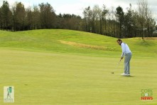 Lee Valley Senior Scratch Cup 2018, Lee Valley Golf Club. Final Round, Saturday 22nd April 2018