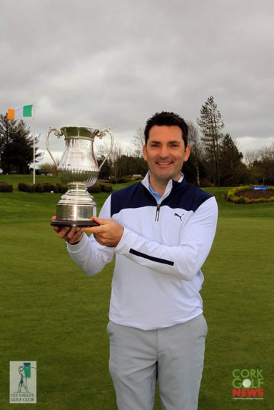 Gary O'Flaherty, winner of the Lee Valley Senior Scratch Cup for the third time. Picture: Niall O'Shea