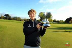 Dun Laoghaire's Alan Fahy who won the Munster Strokeplay Championship at Cork Golf Club. Picture: Niall O'Shea