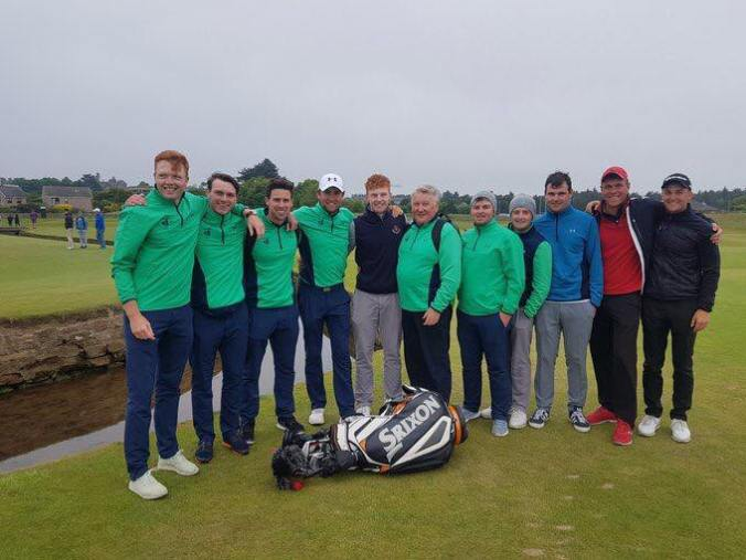 Irish Team St Andrews Stophy 2018