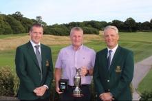 Winner of Intermediate Cup Rory O'Dwyer (Berehaven GC).