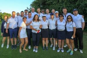 Irish Mixed Foursomes Area Final 2018 Cork Golf Club Thursday 28th June 2018