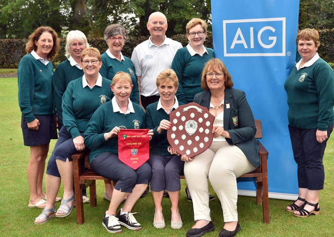 2018 AIG Ladies Cups and Shields Finals (Munster District) at Ti