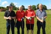 Pictured at the Vintners outing were Denis Dennehy, Barry Galvin, Rodney Pidgeon and Noel Maguire. Picture: Niall O'Shea