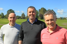 Greg Milner, Paul O'Connor and Andrew Dwyer from Musgrave at the Vintners outing. Picture: Niall O'Shea