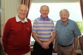 Frank O'Sullivan, Howard Dunne and Denis Cregan a the Cork Vintners outing. Picture: Niall O'Shea
