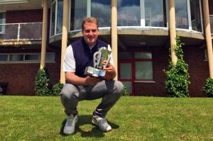 Gary Ward who won the Kinsale Senior Scratch Cup on Saturday.